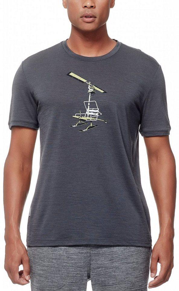 Icebreaker T-Shirt »Tech Lite SS Crewe Men Chair Lifter« in grau