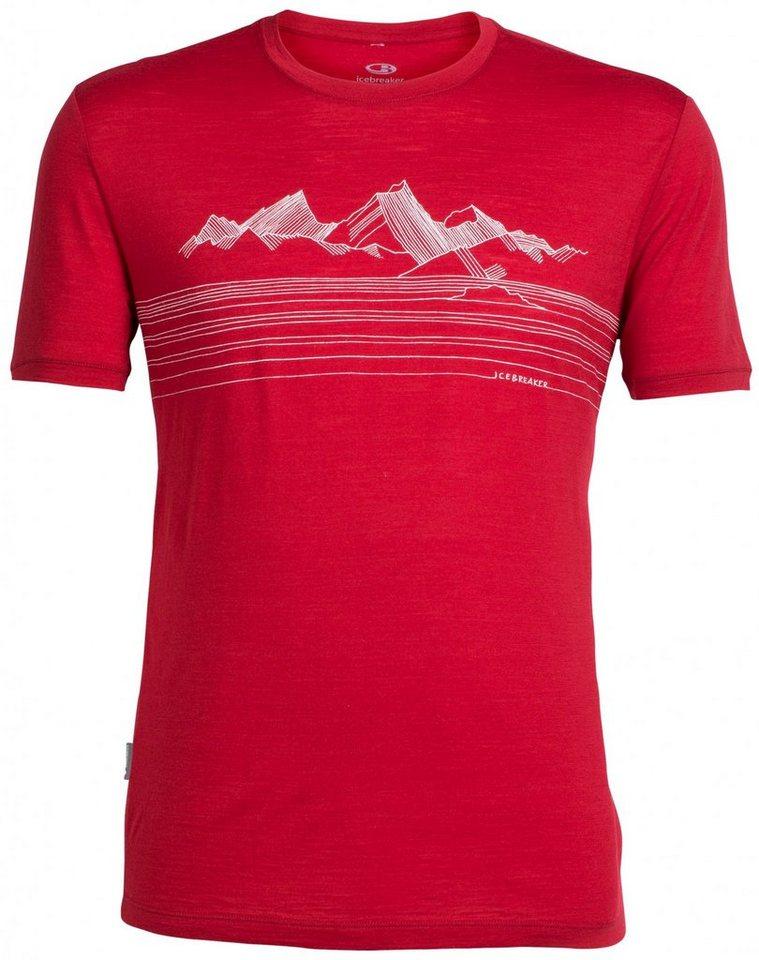 Icebreaker T-Shirt »Tech Lite SS Crewe Men Approach« in rot