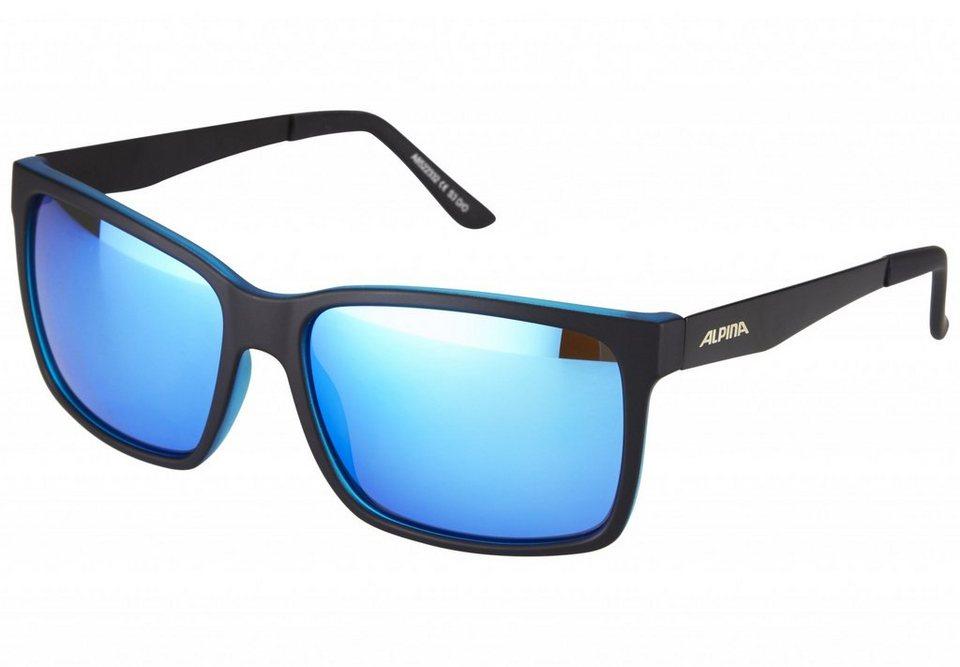 Alpina Radsportbrille »Don Hugo« in schwarz