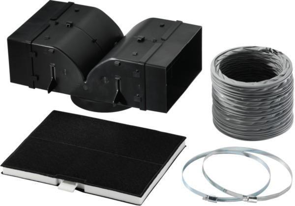 Siemens Starterset für Umluftbetrieb LZ53850 in schwarz