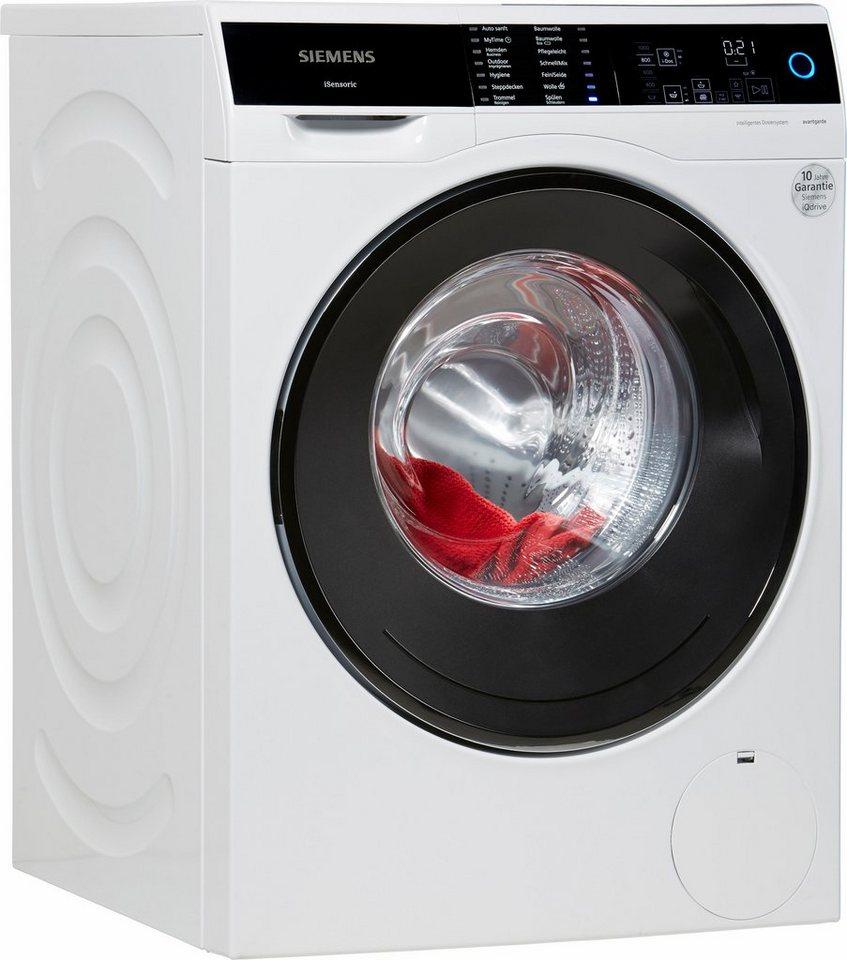 SIEMENS Waschmaschine WM14U640, A+++, 9 kg, 1400 U/Min in weiß