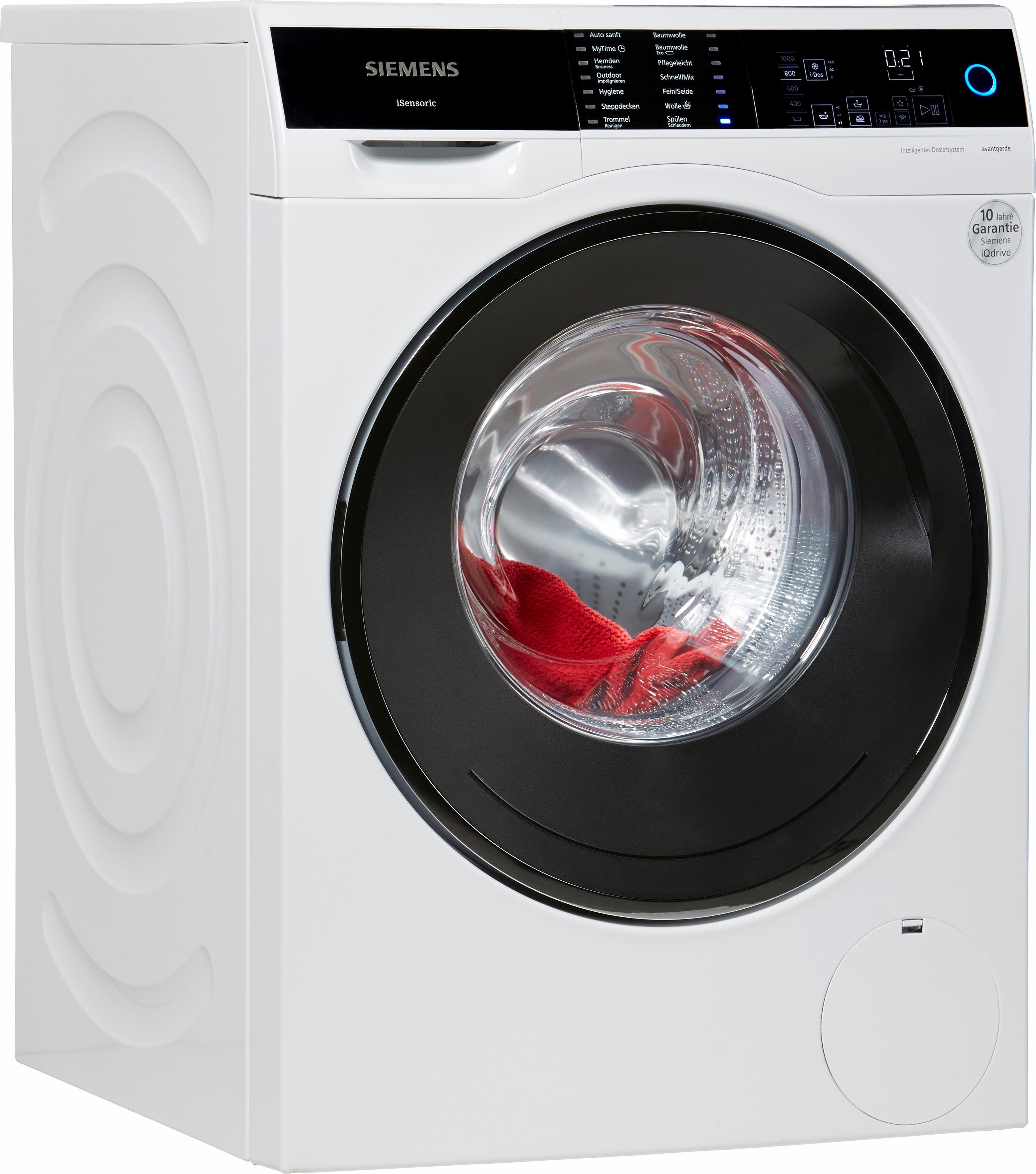 SIEMENS Waschmaschine avantgarde WM14U640, A+++, 9 kg, 1400 U/Min