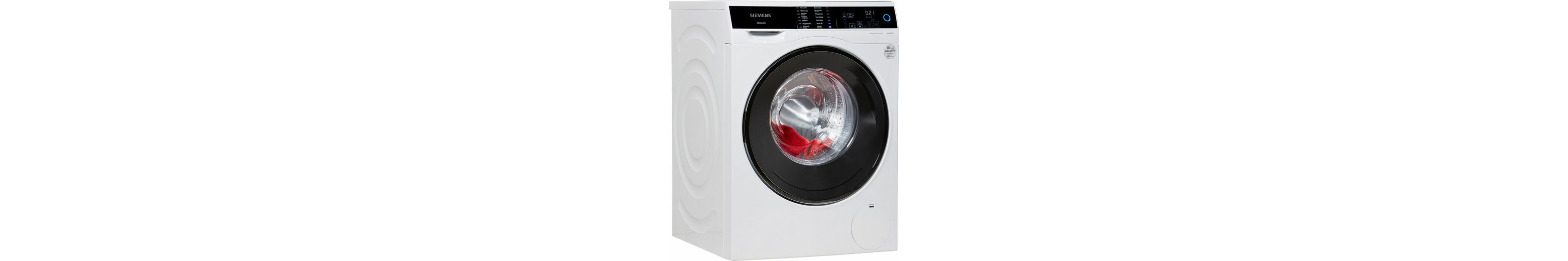 SIEMENS Waschmaschine WM14U640, A+++, 9 kg, 1400 U/Min