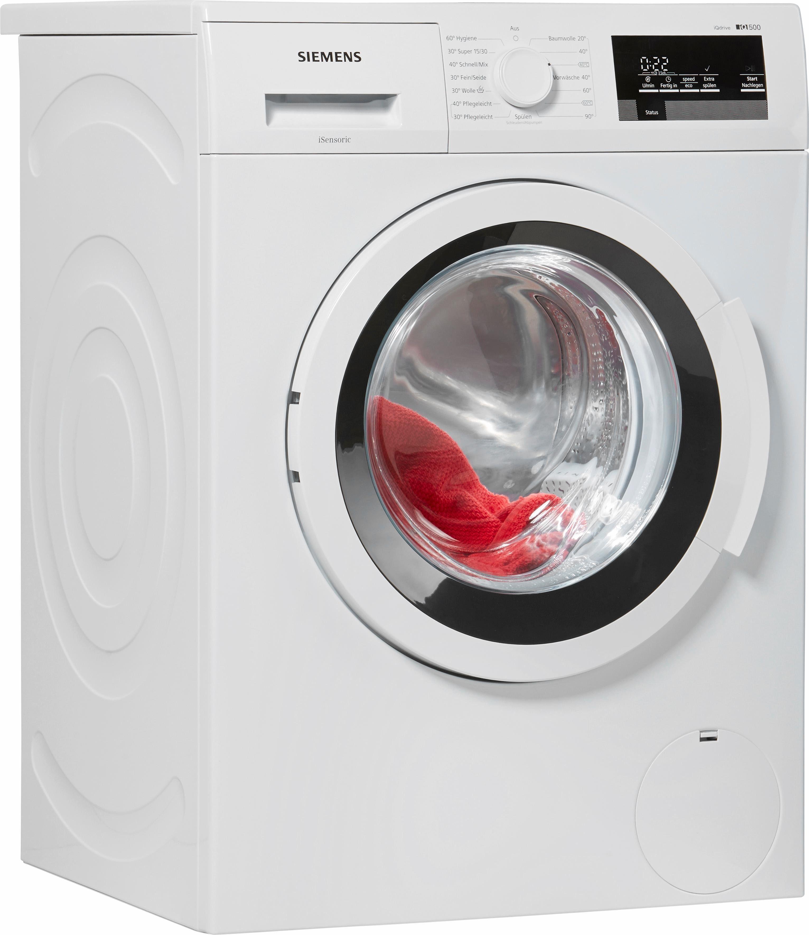 SIEMENS Waschmaschine iQ500 WM14T3V0, A+++, 8 kg, 1400 U/Min