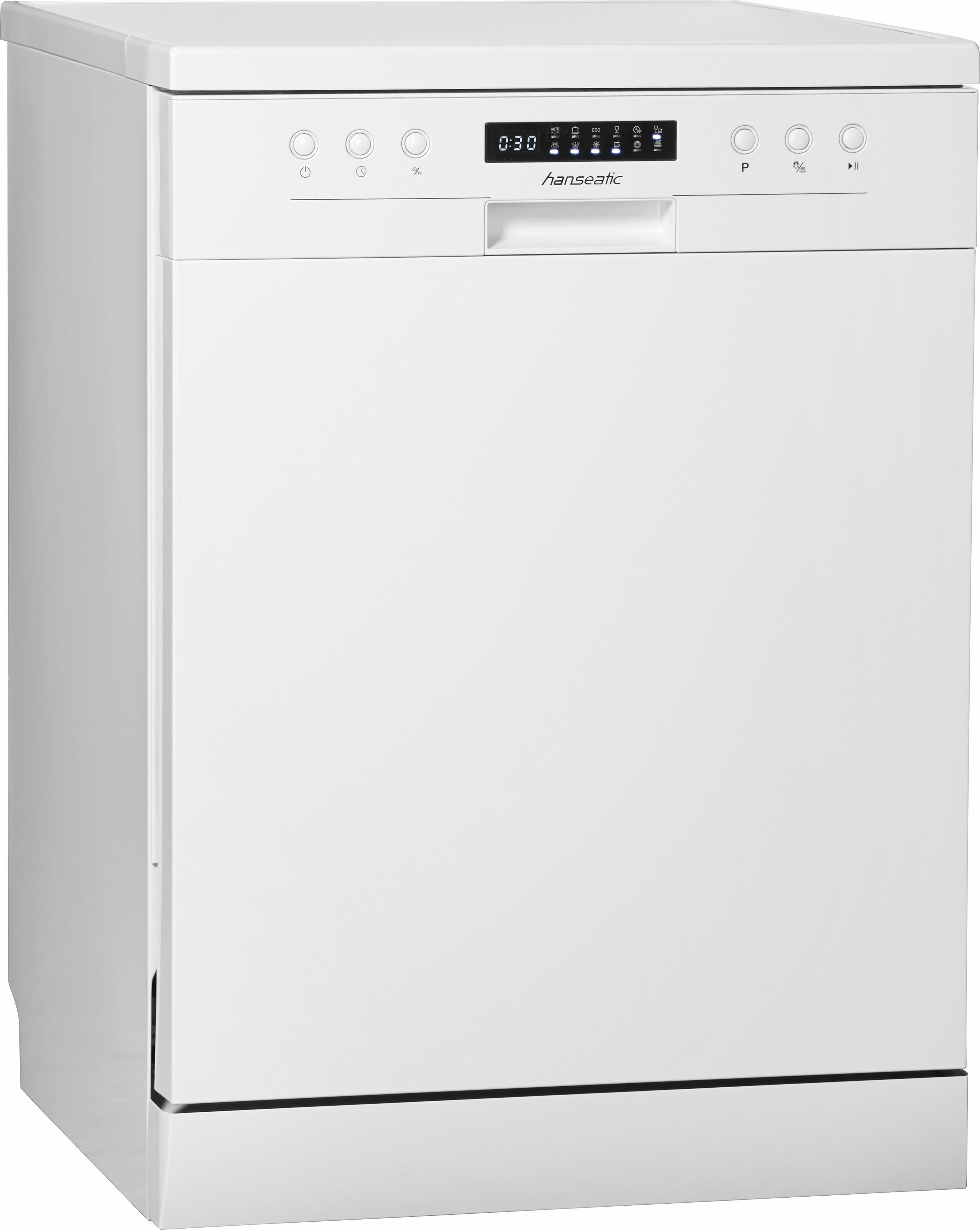 Hanseatic Geschirrspüler WQP12-J7609D white A+++, A+++, 10 Liter, 13 Maßgedecke