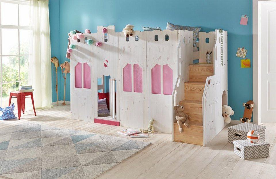 Kinderhochbett treppe  Hochbett, Silenta online kaufen | OTTO
