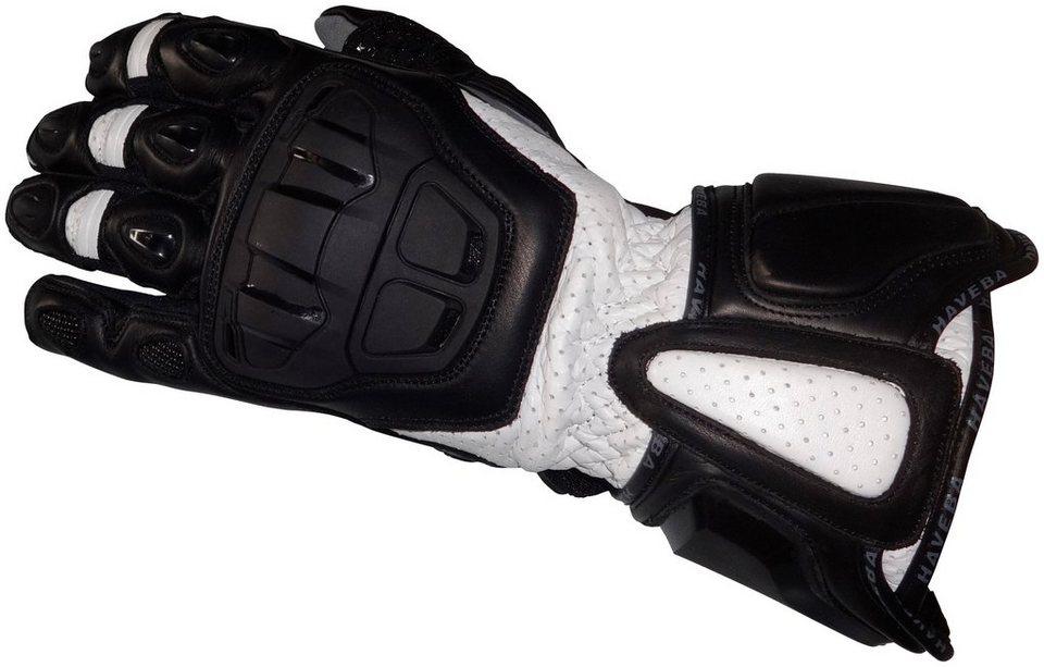 Motorradhandschuhe »Runnix« in weiß