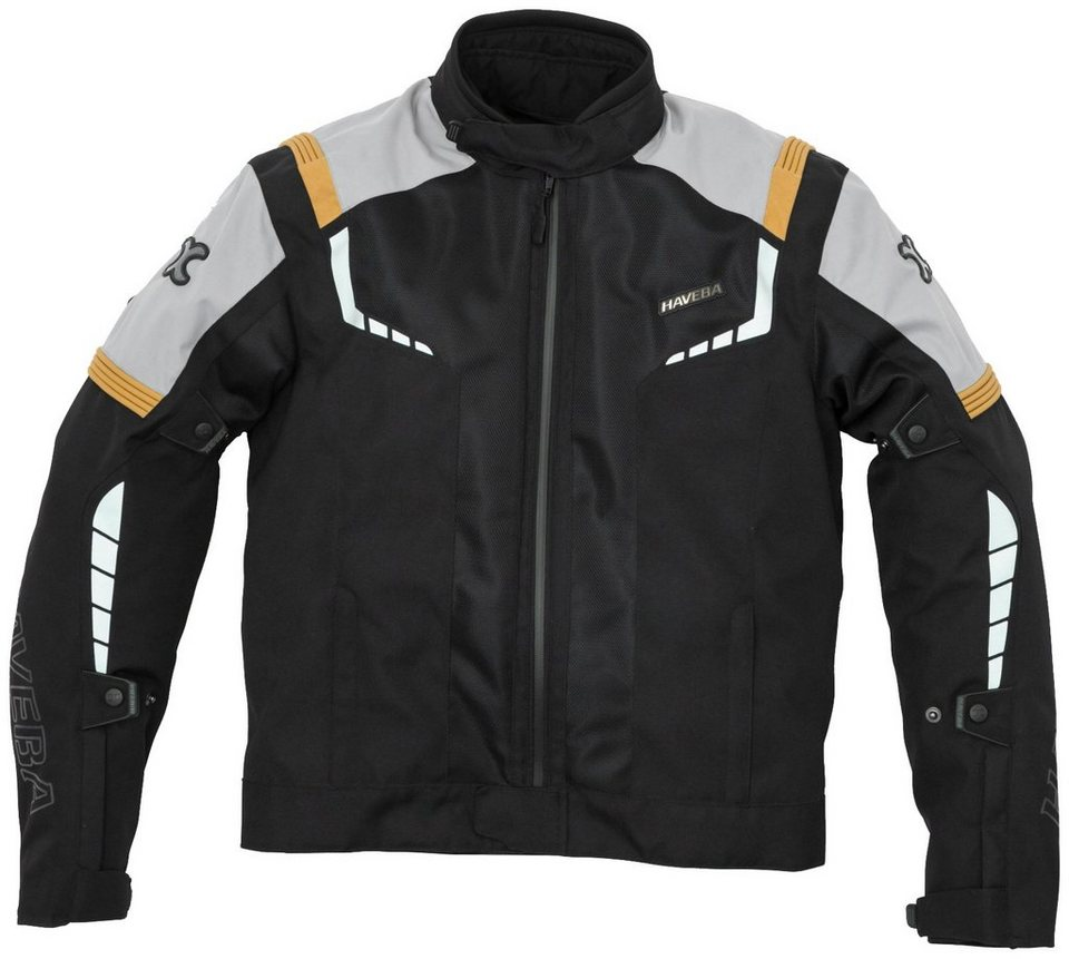 Tourenjacke »Estro Mesh« in schwarz/orange