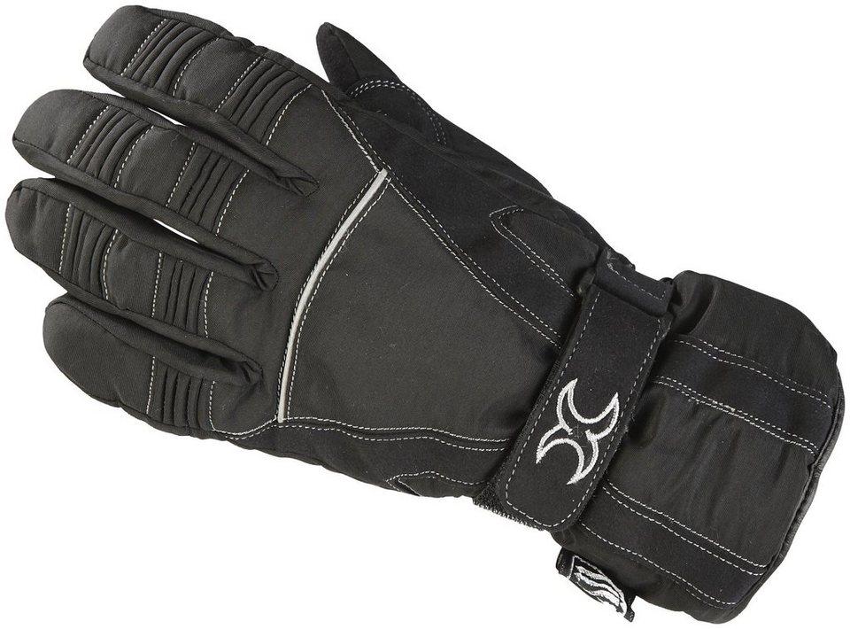 Motorradhandschuhe »Flex« in schwarz