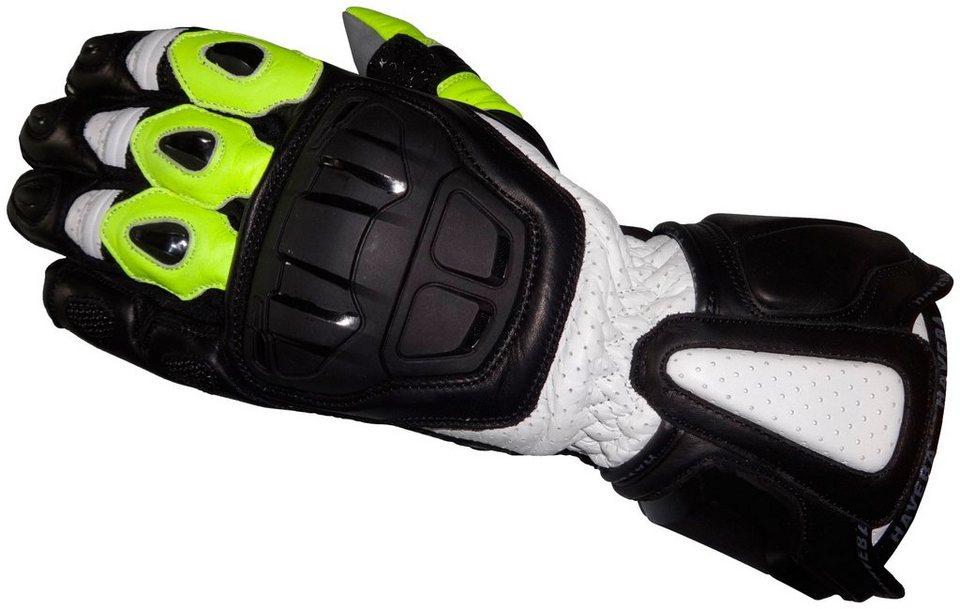 Haveba Motorradhandschuhe »Runnix« in gelb