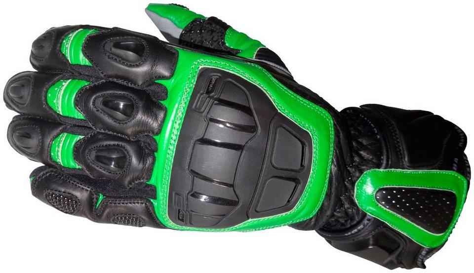 Motorradhandschuhe »Runnix« in grün