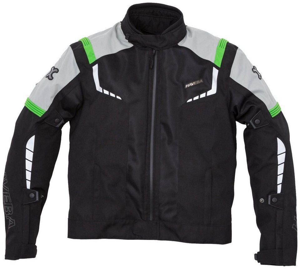 Tourenjacke »Estro Mesh« in schwarz/grün