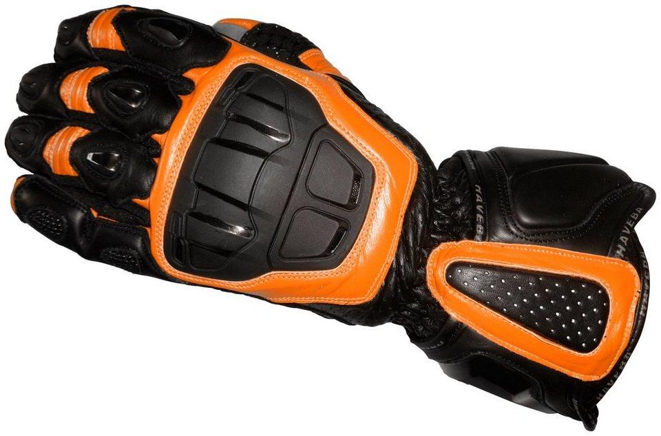 Haveba Motorradhandschuhe »Runnix« in orange