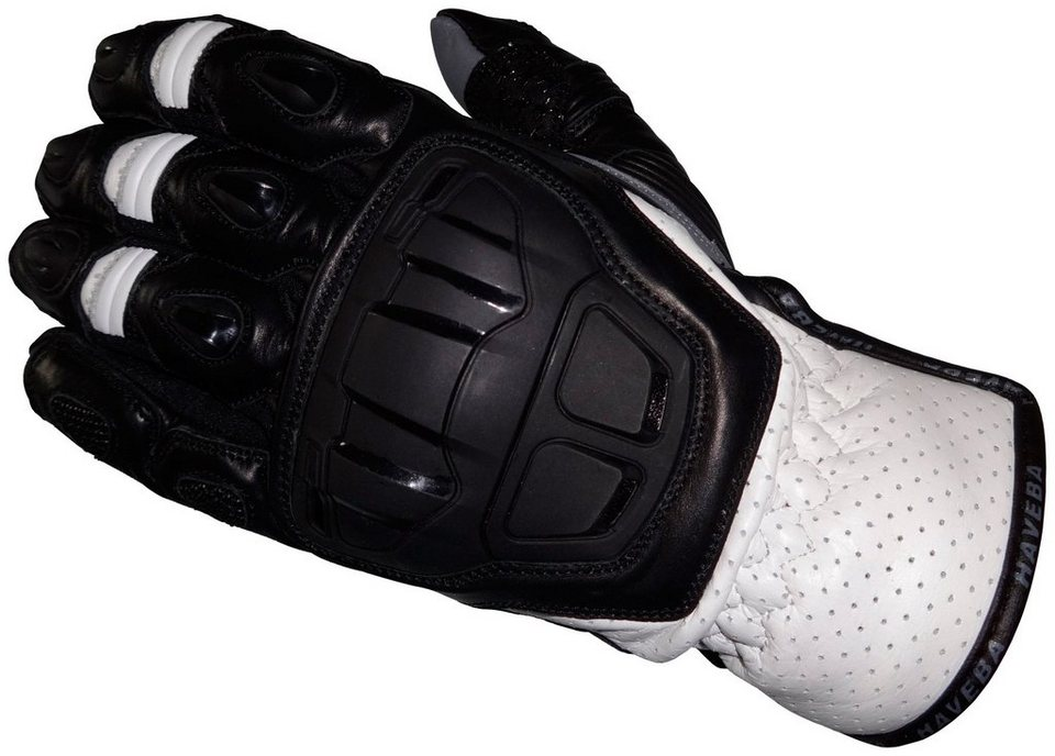 Haveba Motorradhandschuhe »Slayer« in weiß
