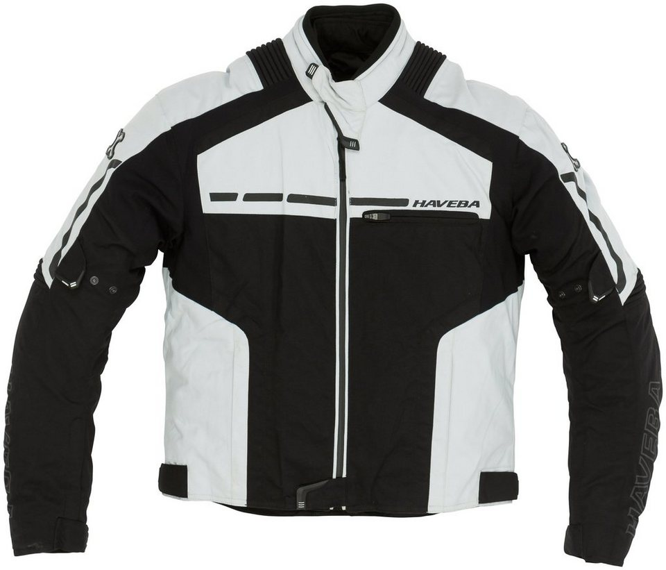 Herrenmotorradjacke »Trigger« in schwarz
