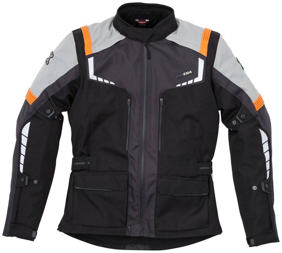 Haveba Tourenjacke »Estro WP« in schwarz/orange