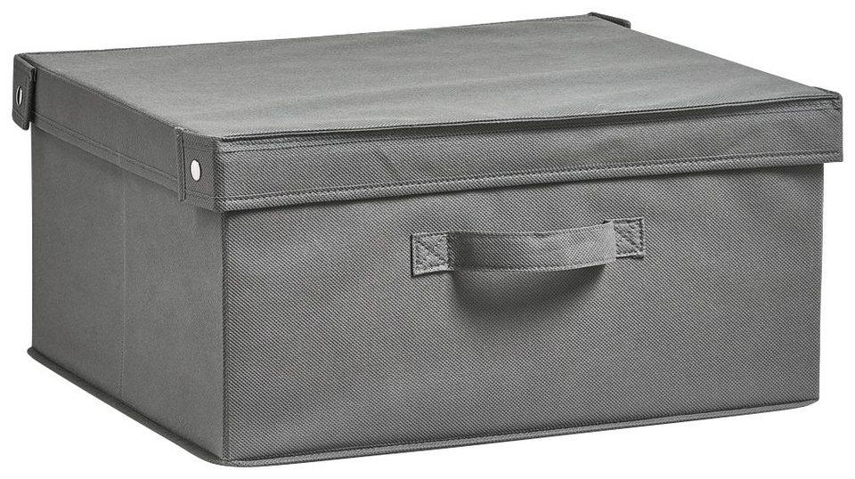 Aufbewahrungsbox »Faltbar« Maße 41x35x20 cm in grau