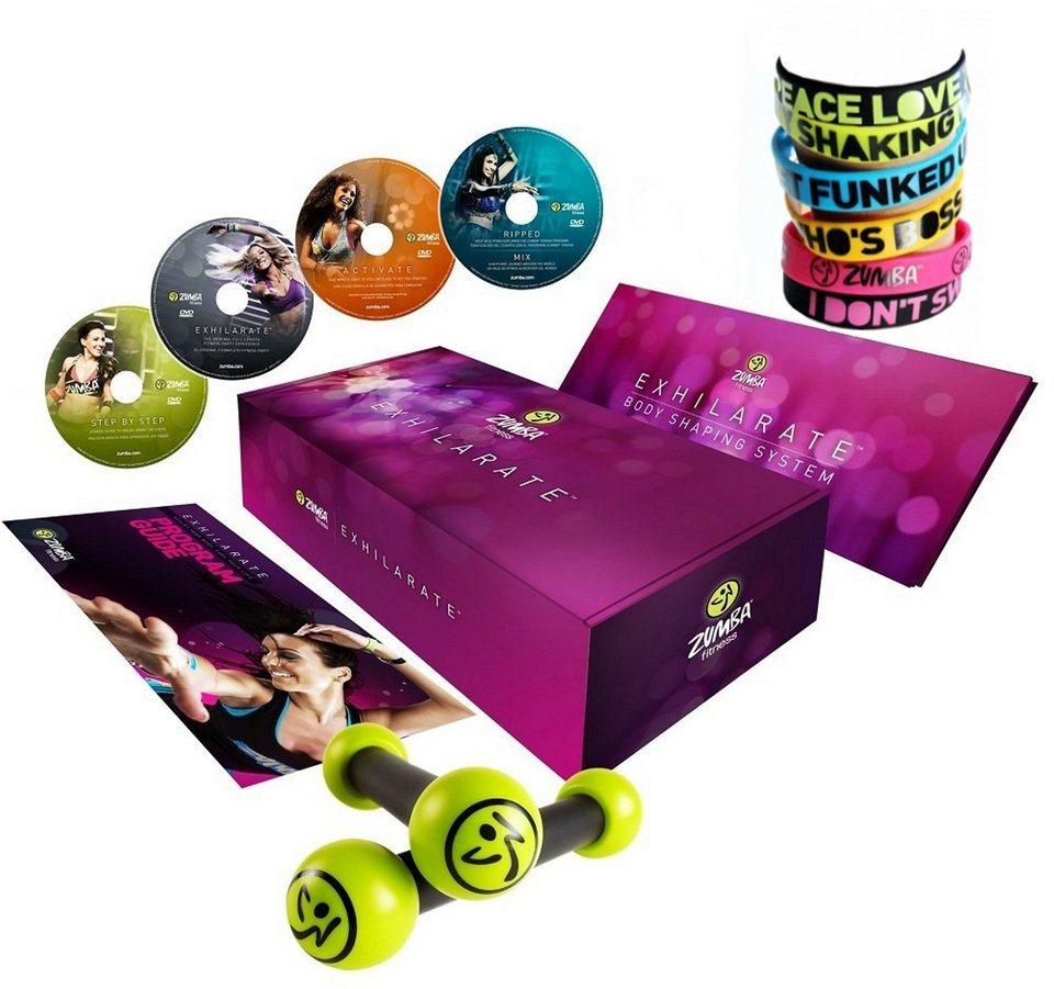 Zumba® Fitness Exhilarate™-DVD-Set, 13teilig mit Handbuch