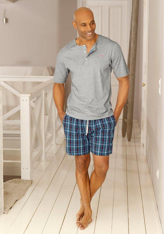 17d51c9e76 s.Oliver RED LABEL Bodywear Shorty Pyjama kurz