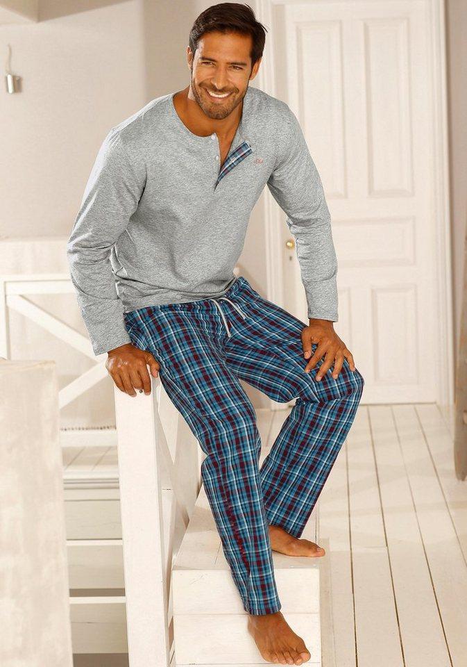 s oliver red label bodywear pyjama lang kaufen otto. Black Bedroom Furniture Sets. Home Design Ideas
