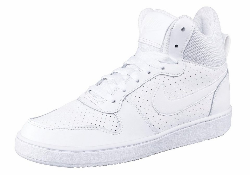 Nike »Court Borough Mid Wmns« Sneaker in weiß-weiß
