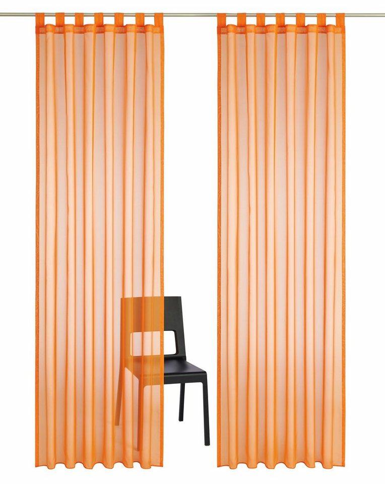 gardine my home cluny mit schlaufen 2 st ck otto. Black Bedroom Furniture Sets. Home Design Ideas