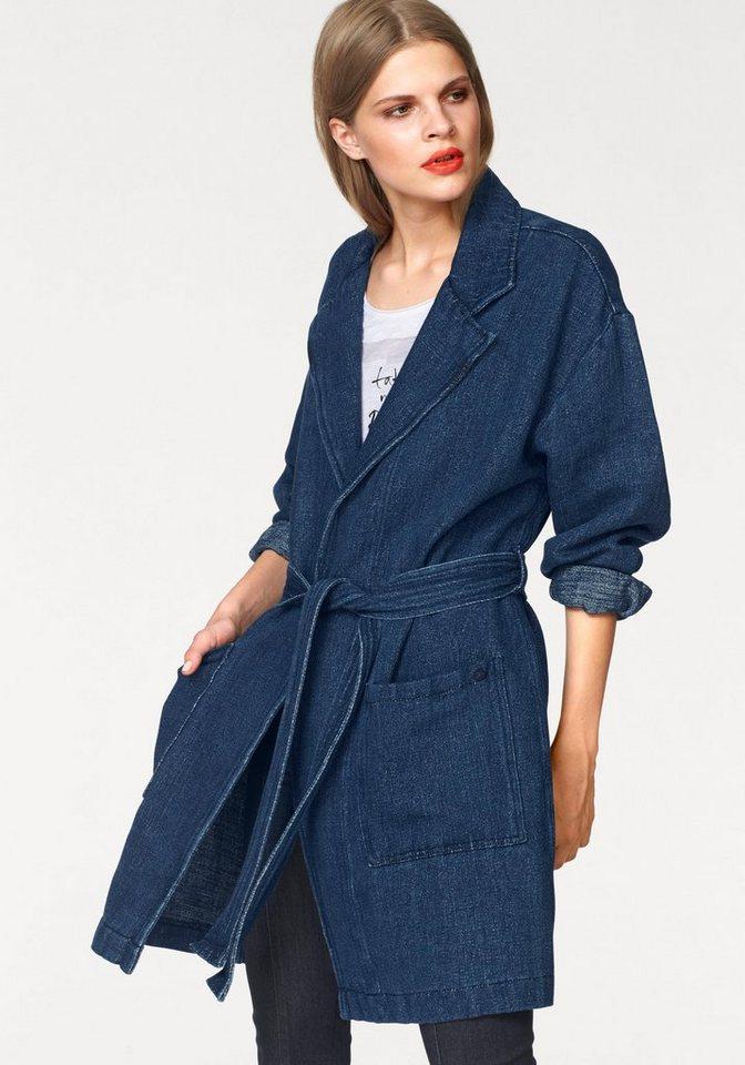 Pepe Jeans Kurzmantel »Kimmie« in Jeans-Optik in jeans-blau