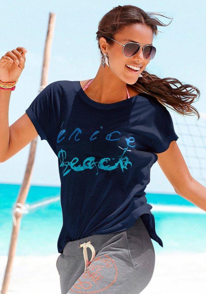 Venice Beach Strandshirt in marine