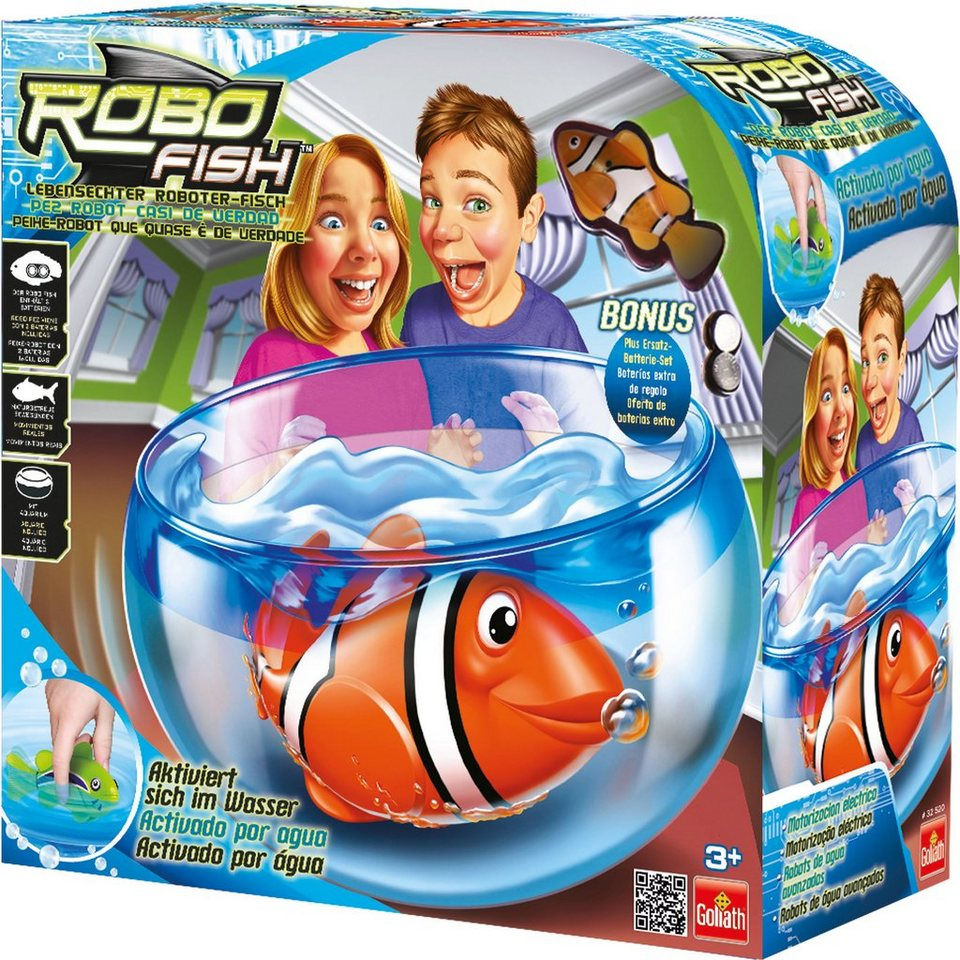 Goliath Wasserspielzeug, »Robo Fish Playset«