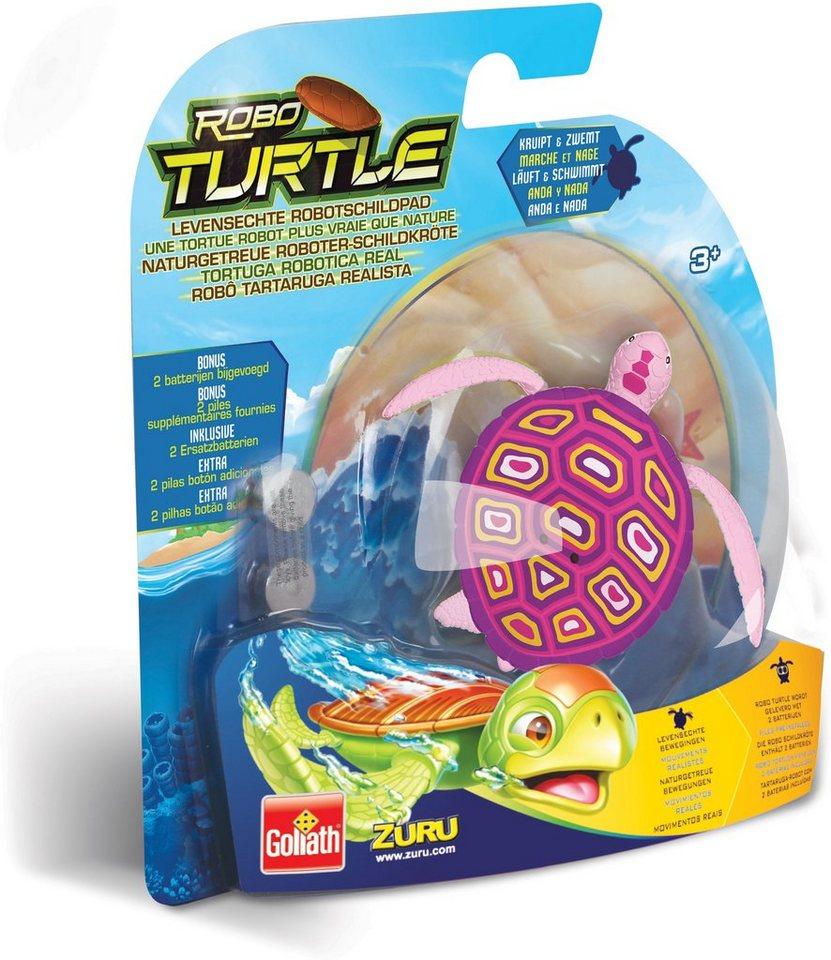Goliath Wasserspielzeug Schildkröte, »Robo Turtle Pink«