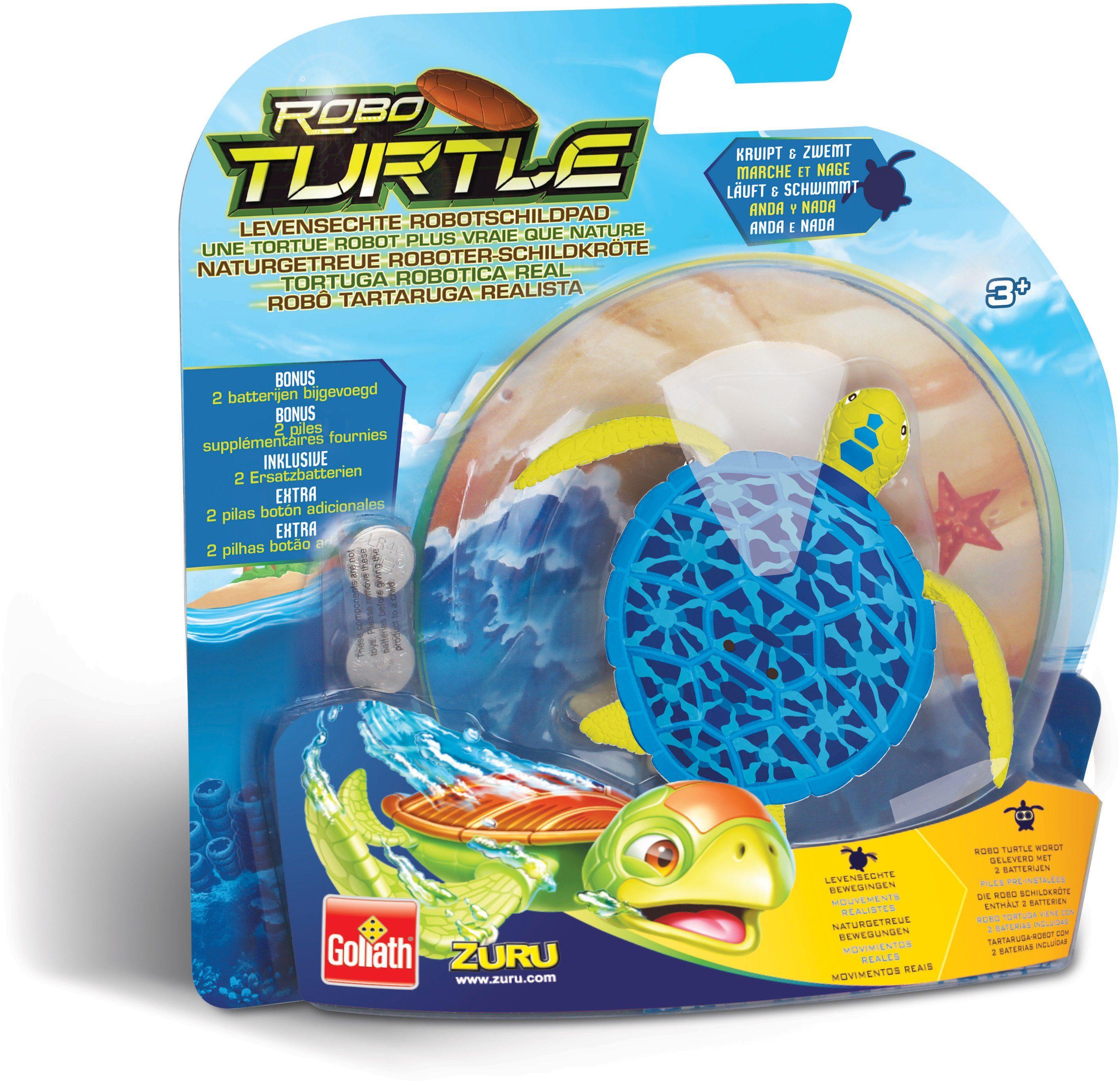 Goliath Wasserspielzeug Schildkröte, »Robo Turtle Blau«