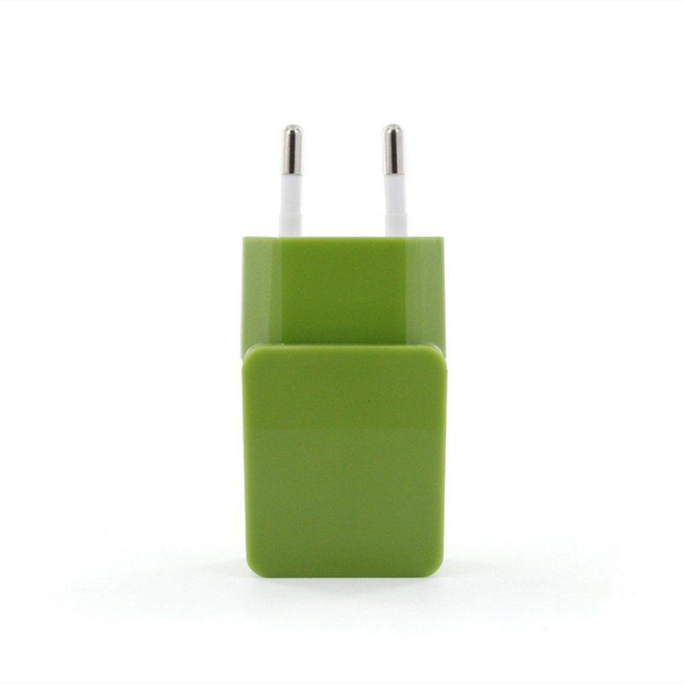 connect IT Ladegerät »IT Colour Line USB Netzteil 1A Grün«
