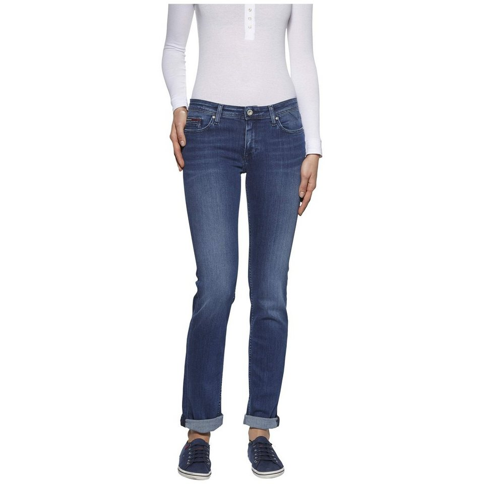 Hilfiger Denim Jeans »Mid Rise Straight Sandy NMST« in NICEVILLE MID STRETCH