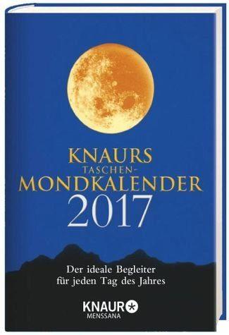 Broschiertes Buch »Knaurs Taschen-Mondkalender 2017«