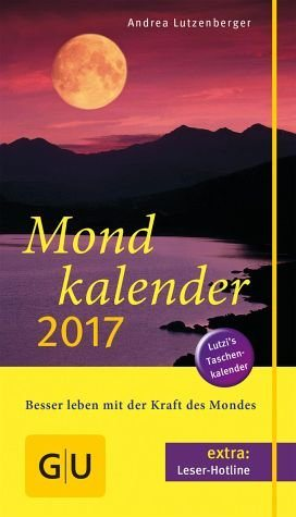 Broschiertes Buch »Mondkalender 2017«