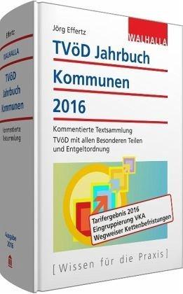 Gebundenes Buch »TVöD-Jahrbuch Kommunen 2016«