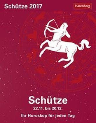 Kalender »Sternzeichenkalender Schütze 2017«