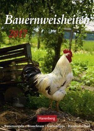 Kalender »Bauernweisheiten 2017«