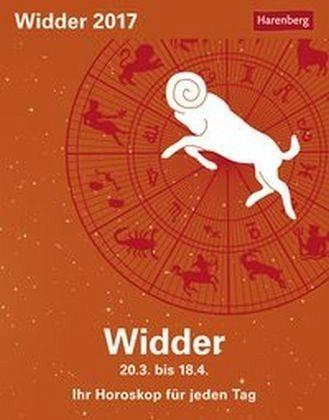 Kalender »Sternzeichenkalender Widder 2017«