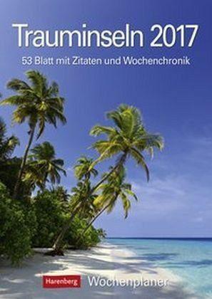 Kalender »Trauminseln 2017 Wochenplaner«