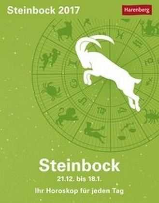 Kalender »Sternzeichenkalender Steinbock 2017«