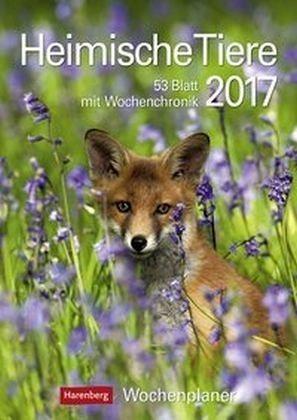 Kalender »Heimische Tiere 2017 Wochenplaner«