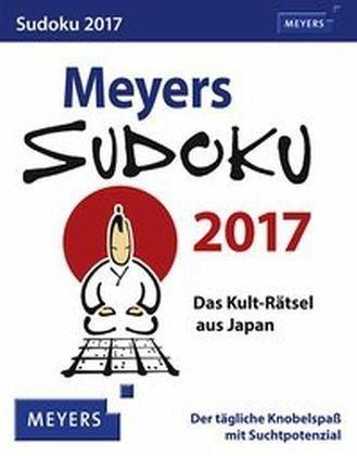 Kalender »Meyers Sudoku 2017«