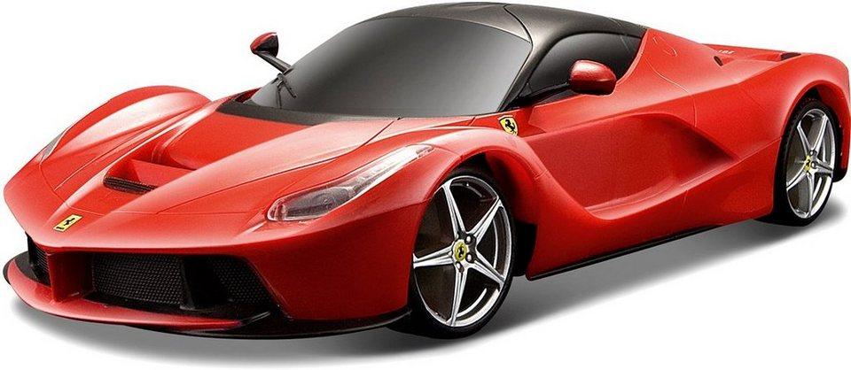 Bburago® Modellauto im Maßstab 1:18, »Ferrari La Ferrari, rot« in rot