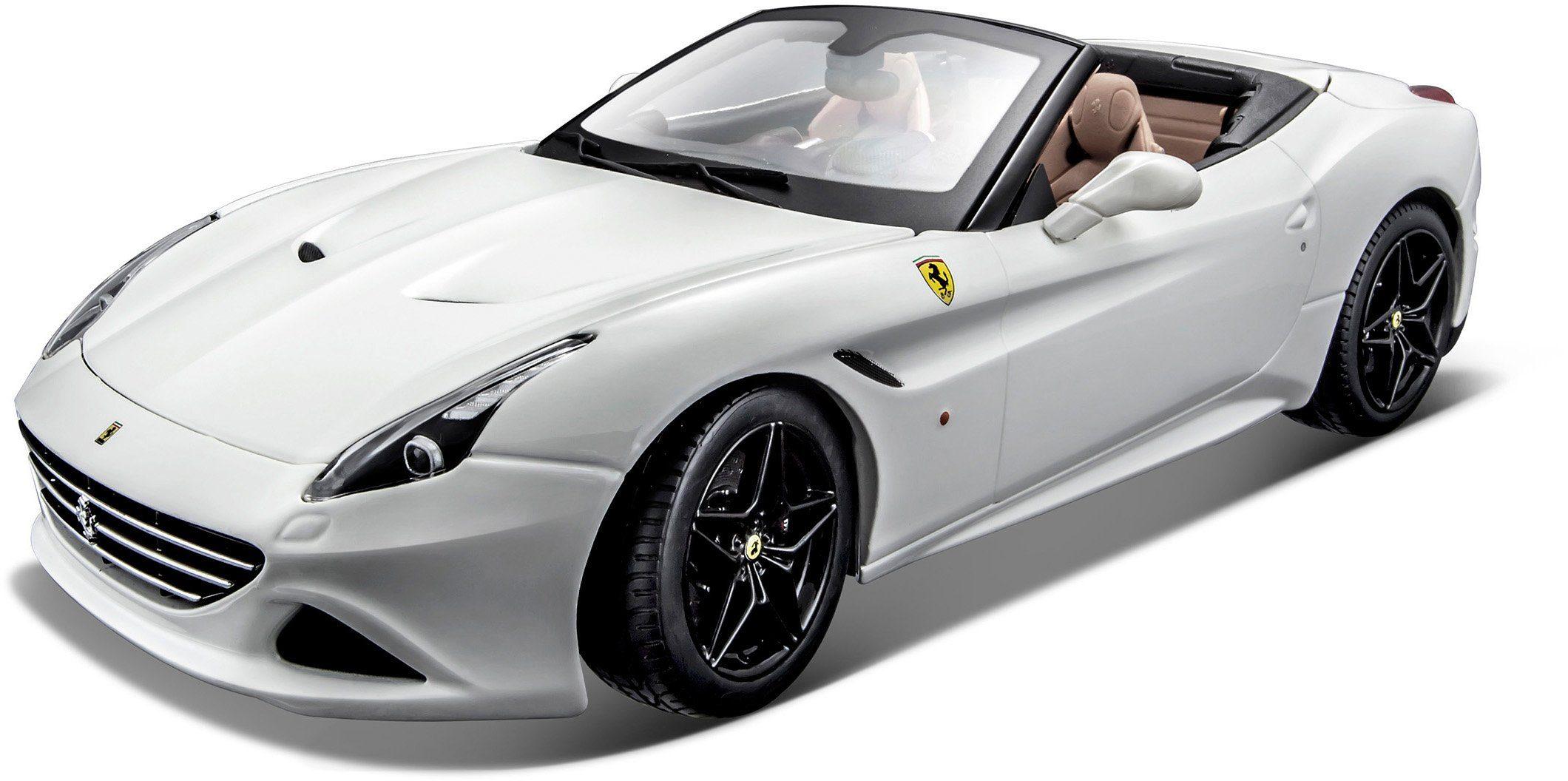Bburago® Modellauto im Maßstab 1:18, »Ferrari California T Cabrio, weiß«