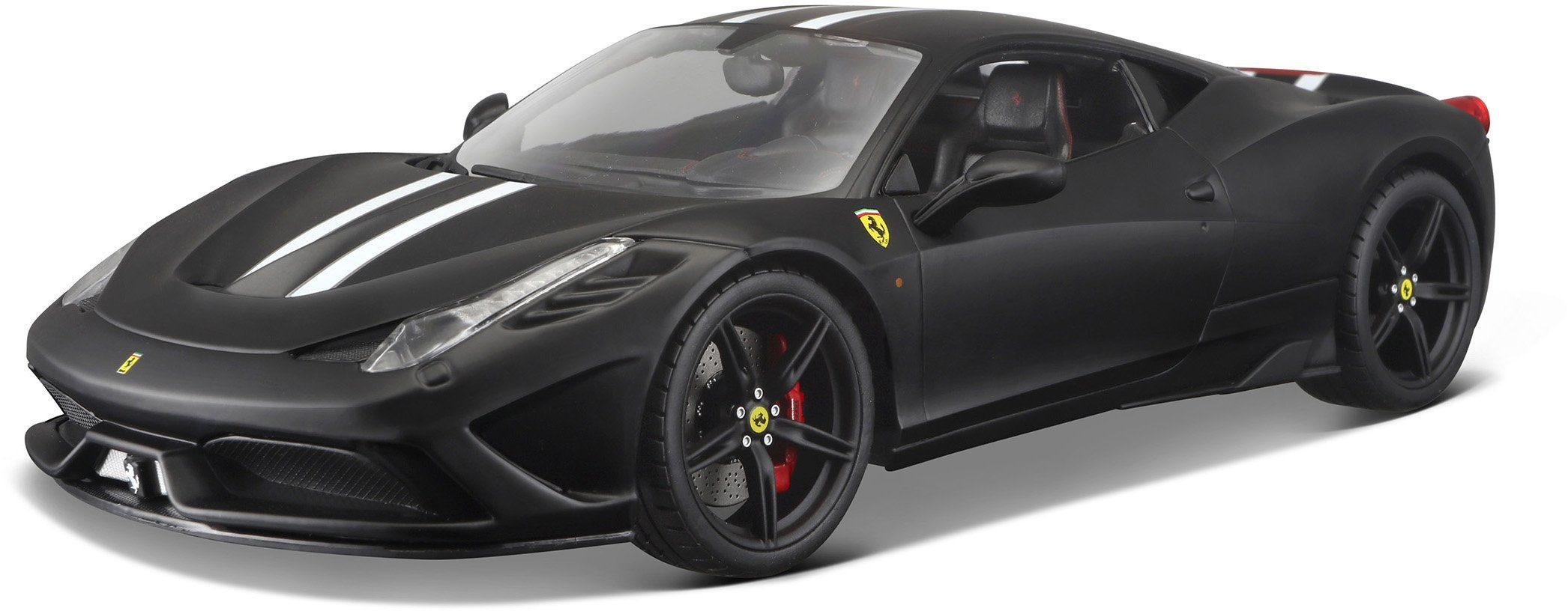 Bburago® Modellauto im Maßstab 1:18, »Ferrari 458 Speciale, schwarz«
