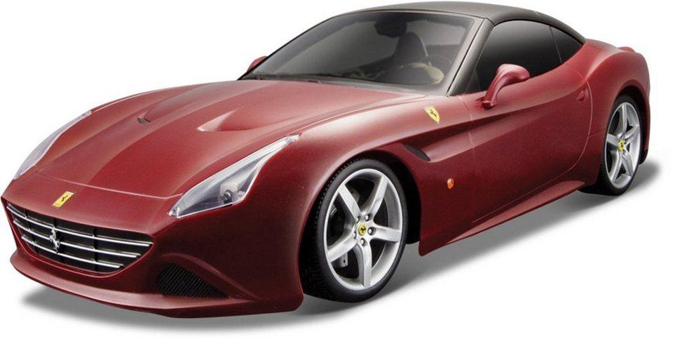 Bburago® Modellauto im Maßstab 1:18, »Ferrari California T, rot« in rot