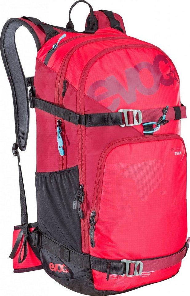 Evoc Sport- und Freizeittasche »Line Team Backpack 28 L« in rot