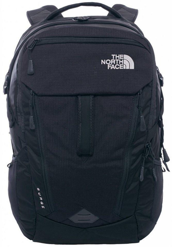 The North Face Sport- und Freizeittasche »Surge Backpack« in schwarz