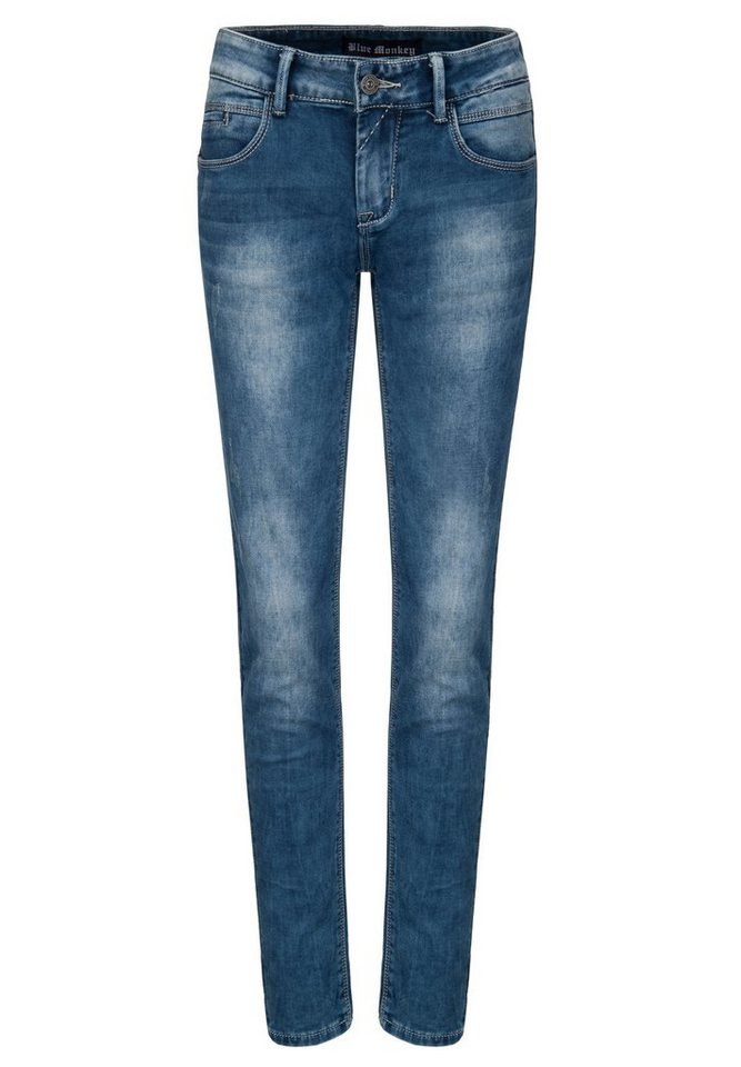 Blue Monkey Sweatjeans »Cintia« in dunkelblau
